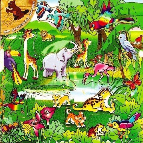 Игрушка Мир деревянных игрушек Лабиринт Чудо-дерево Д400