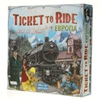 HOBBY WORLD 1032 Ticket to Ride: Европа